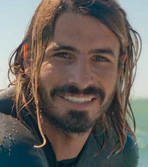 Damien Castera, ambassadeur de l'Association Nationale Handi-Surf