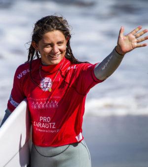 Kim Veteau, ambassadrice de l'Association Nationale Handi-Surf