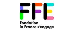 Logo de la fondation la france s'engage, partenaire premium