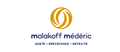 Logo de Malakoff Médéric, partenaire de la maison des aidants