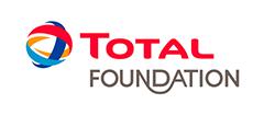Logo de la Total Foundation, partenaire premium