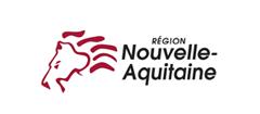 Logo de la nouvelle aquitaine, partenaire premium