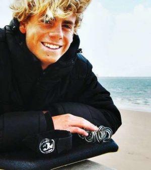 Maxime Castillo, ambassadeur de l'Association Nationale Handi-Surf