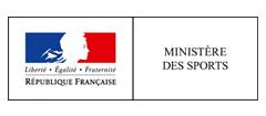 Logo du ministère des sports, partenaire premium