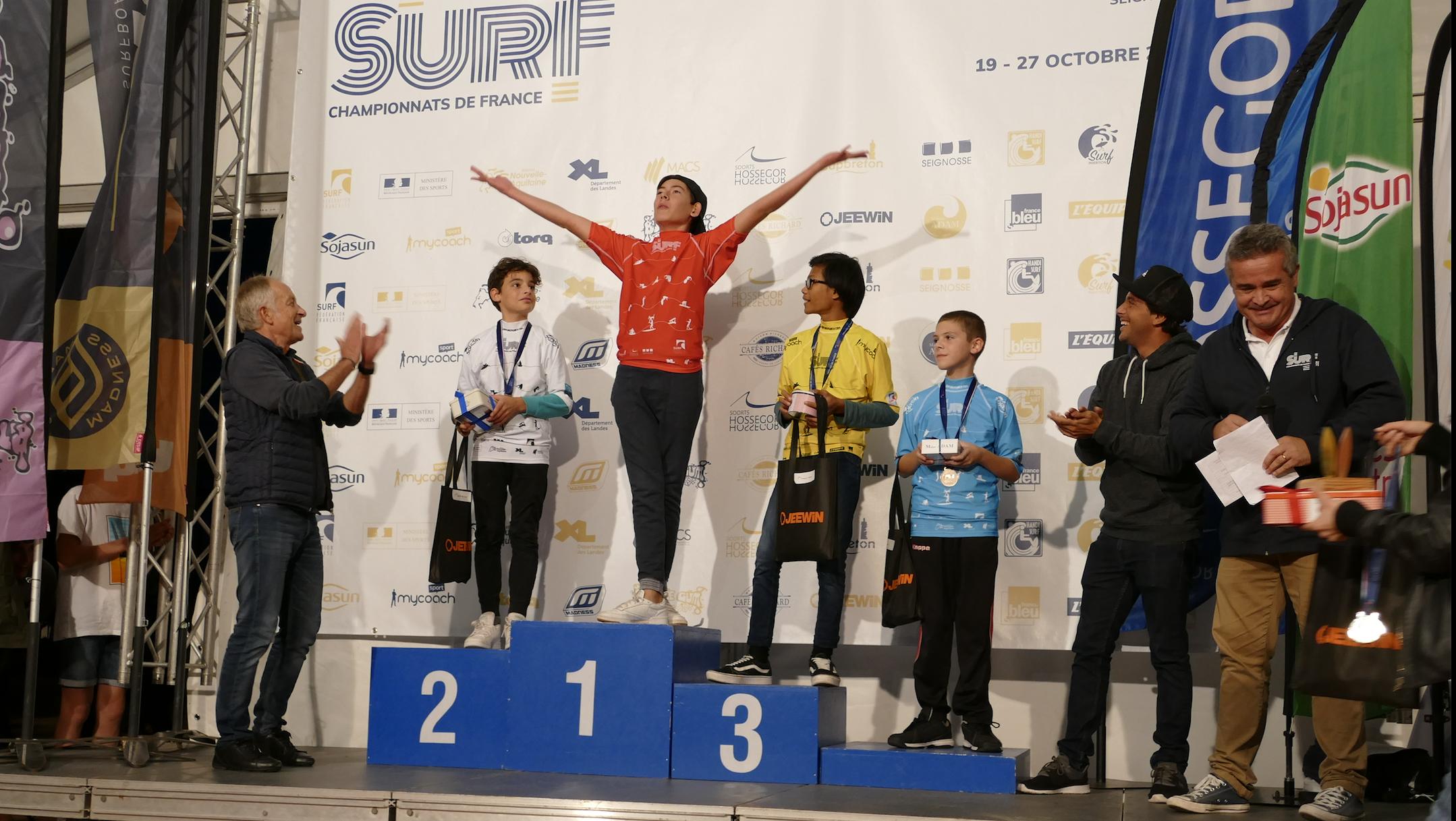 Carton plein pour la catégorie Para Surf Adapté lors des Championnats de France de Surf 2019