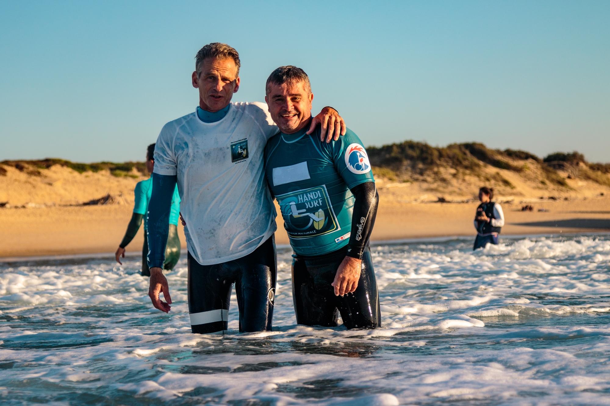 """""""Les voix d'Handi Surf"""" #1- François GOUFFRANT et Jean-Marc SAINT-GEOURS, les initiateurs d'un projet """"un peu fou"""""""
